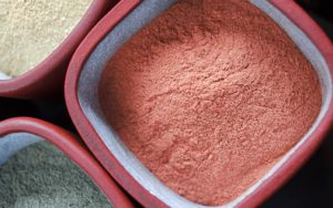 red clay face pack