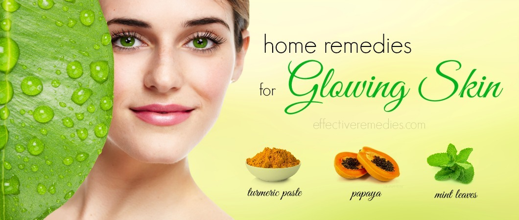 Image result for Home remedies that can glow the skin naturally